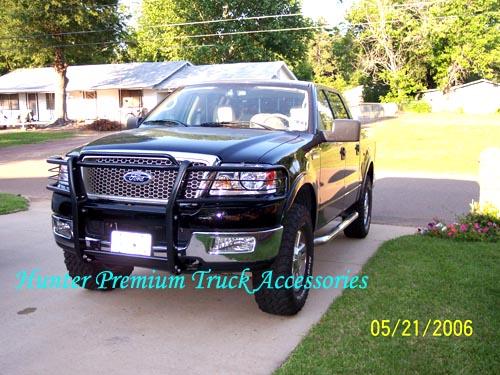 4X4 Hunter Premium Truck Accessories Black Grille Guard Fits 06-08 Ford F-150