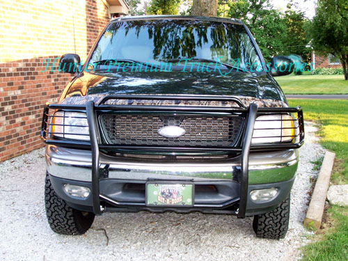 Hunter Premium Truck Accessories Black Grille Guard Fits 97-03 Ford F-150//250LD 4x4 4x4 // 97-02 Expedition