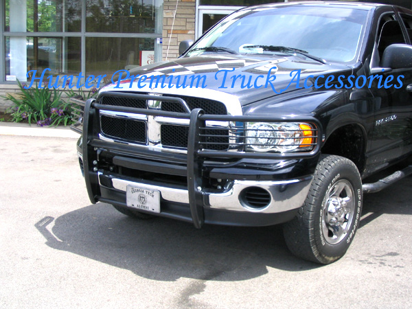 Details About Fits 2002 05 Dodge Ram 1500 Grill Brush Grille Grill Guard In Black Bumper
