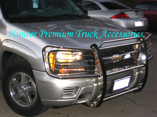 Hunter Premium Truck Accessories Stainless Steel Grille Guard Fits 04-13 Chevy Colorado//GMC Canyon