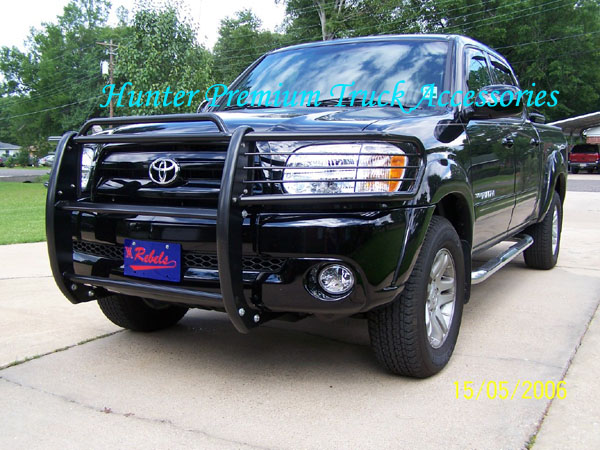 Hunter Premium Truck Accessories Black Grille Guard Fits 00-06 Toyota Tundra 01-04 Sequoia