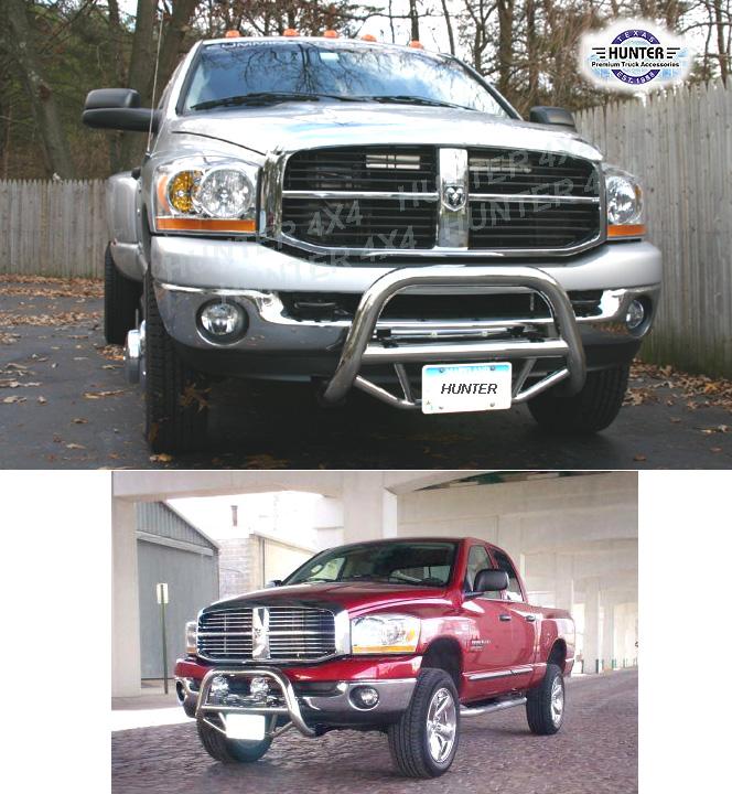 2006 2009 Dodge Ram 1500 Sinister Black 06 08 Ram 2500: 2006-2009 Dodge Ram 1500 2500 3500 Bull Bar Chrome