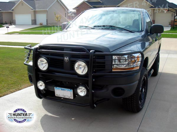 Details About Fits 06 08 Dodge Ram 1500 2500 3500 Brush Grille Grill Guard In Black