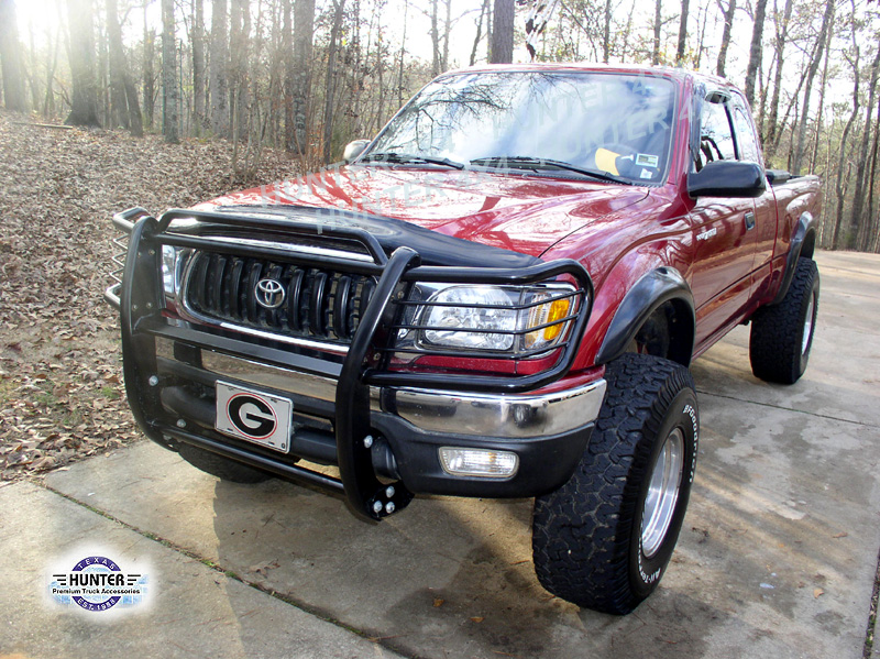 03f9b2bce384e Details about Fits 98-04 Toyota Tacoma / Pre-Runner Grill Brush Guard BLK  Black Bumper Push