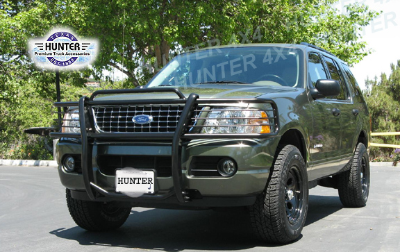 02 05 Ford Explorer 4dr Grill Brush Guard Grille Black Ebay